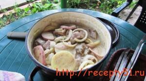Шашлык из свинины в кефире
