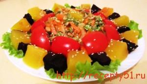 Салат из тыквы